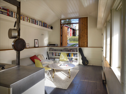 The Principal Objectives For The Living Space Was To Make The Most Of The  Small Volume In Terms Of Function, Light, And Space While Retaining Its  Charming ...